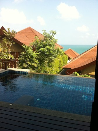 Nora Buri Resort & Spa: Hill side pool villa