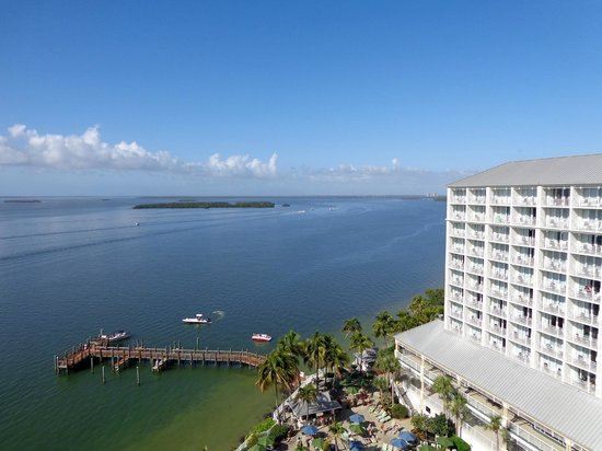 Sanibel Harbour Marriott Resort & Spa: View From Our Room