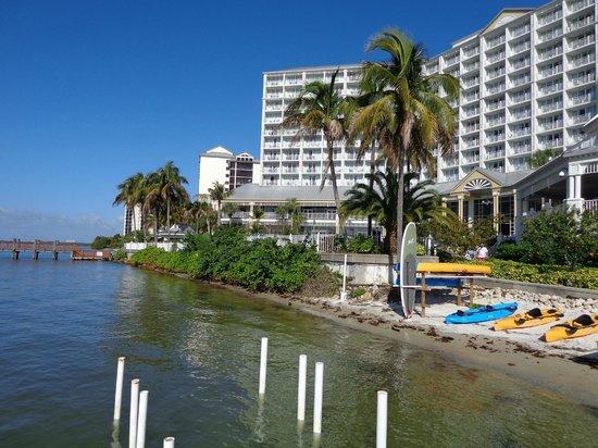 Sanibel Harbour Marriott Resort & Spa : View From Gorund Level