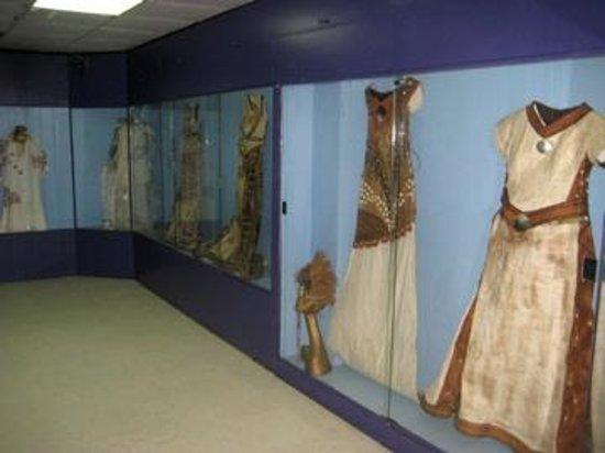 Fiji Museum: Garments made from Tapa a tree-bark cloth