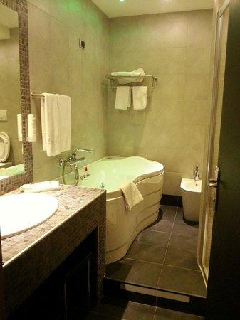 San Marco Hotel: Bagno camera delux  Troppo bello!♡