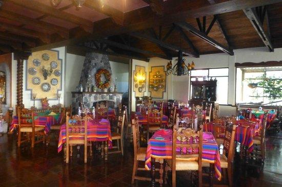 Hotel Atitlan : Restaurant
