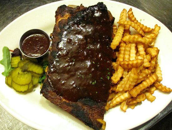 Hereford House   Shawnee: Barbeque Ribs, A Full Slab Of St. Louis Style
