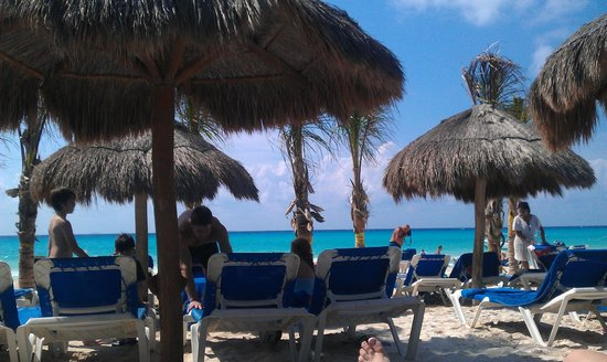 Viva Wyndham Maya: la spiaggia