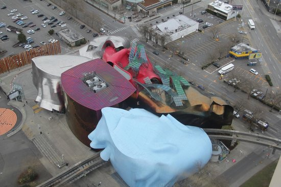 Science Fiction Museum And Hall Of Fame: The Museum As Seen From The Space  Needle