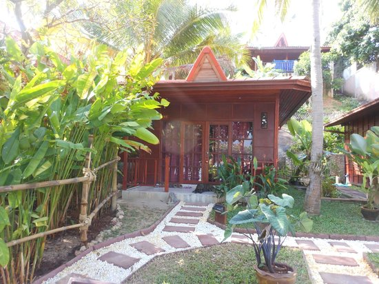 Cyana Beach Resort: Our bungalow - 102