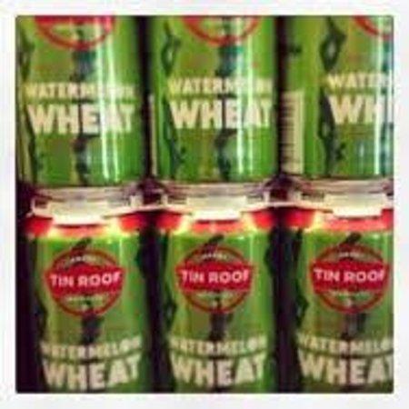 Poeyfarre Market: Tin Roof beer