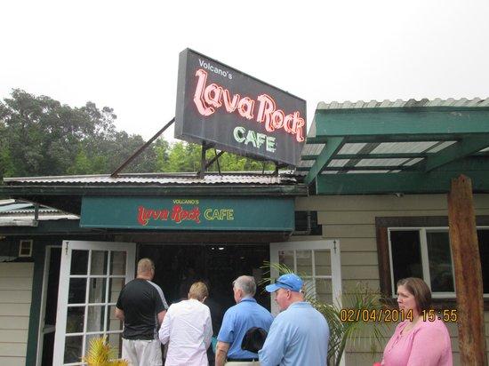 Volcano's Lava Rock Cafe: The Lava Rock Cafe