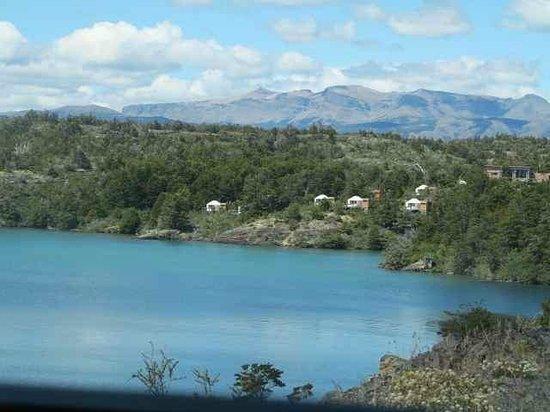 Patagonia Camp, vista de acceso
