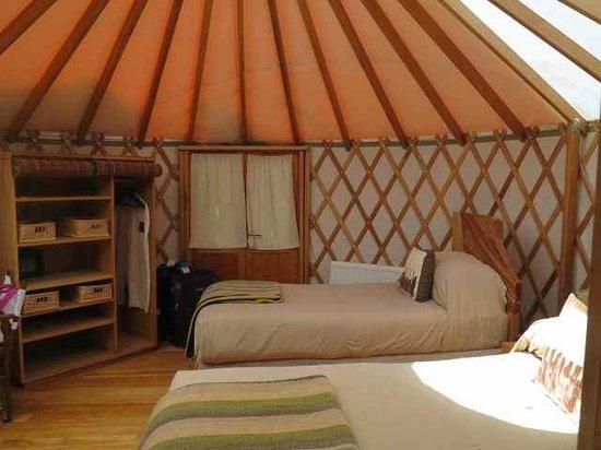 Patagonia Camp: Interior de un Yurt
