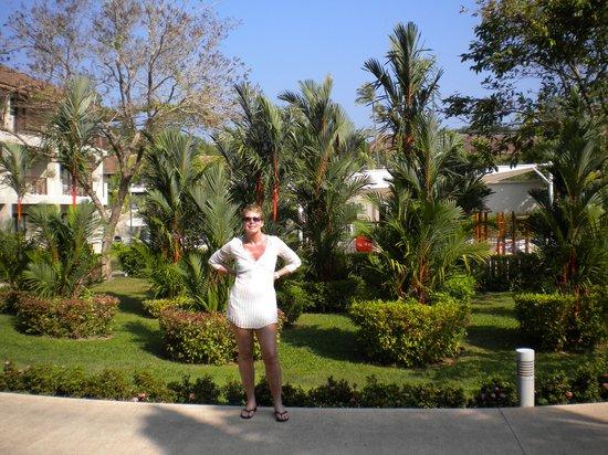 Centara Karon Resort Phuket: well maintained gardens and grounds