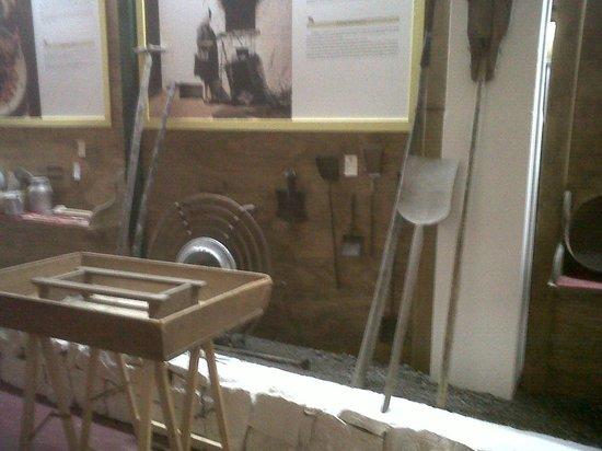 Cantina Albea winery and museum: gli attrezzi