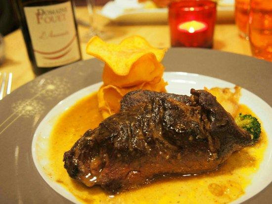 La Cuisine du Monstre: お肉も美味しかったけど、添え物のポテトが超美味しかったです。