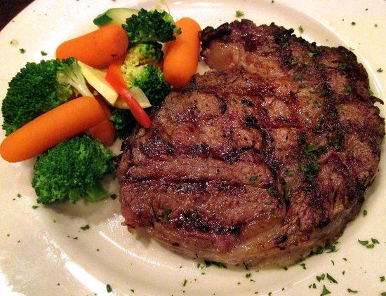 Hereford House: Grilled Prime Rib!