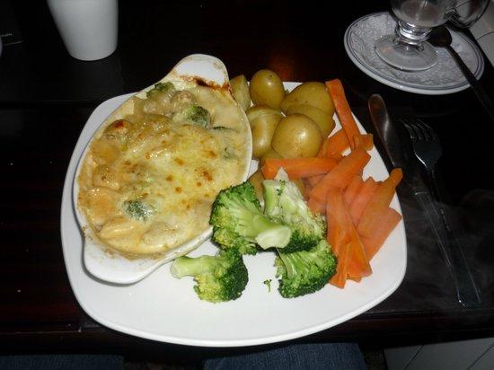 Sutherlands Restaurant: Three cheese broccoli bake