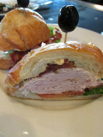 Hereford House: Turkey Club Croissant