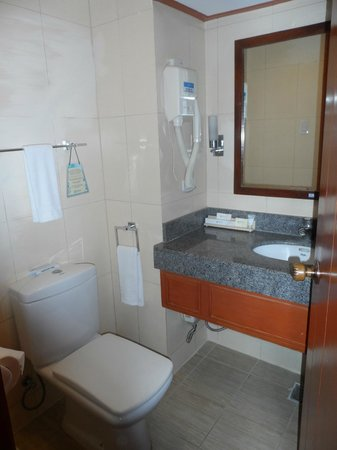 Cebu Parklane International Hotel: sink