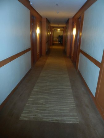 Cebu Parklane International Hotel: hallway