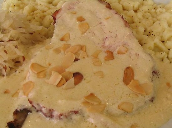 Little Gretel Restaurant: Almond Cream Sauce