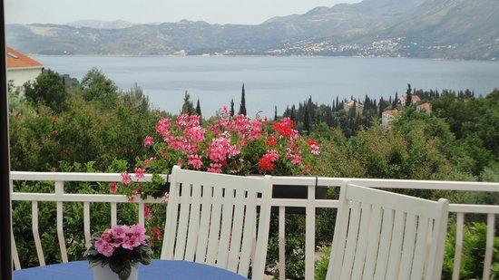 Villa Markoc: balcony view