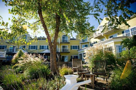 Saybrook Point Inn & Spa: rear of hotel