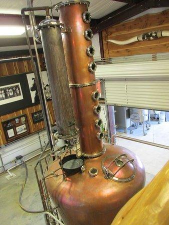 Garrison Brothers Distillery: Distillery