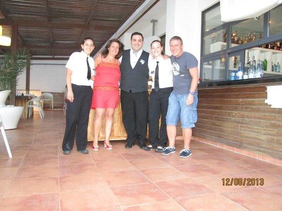 Palladium Hotel Cala Llonga: Personnels de l'hôtel très sympathiques et accueuillants