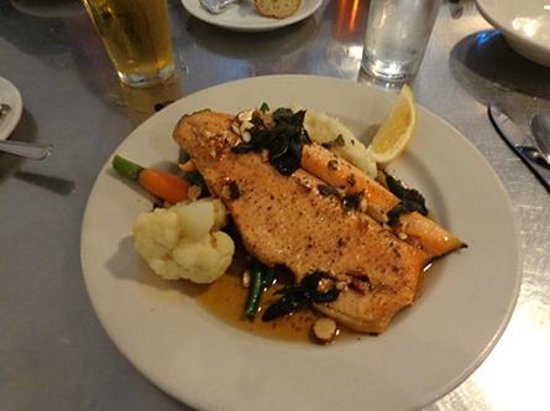Anchor Oyster Bar & Seafood Market : Jeff's fish??