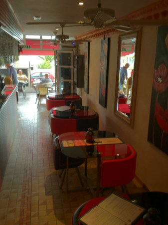 The Red Lion, Callao Salvaje, Tenerife: New furniture