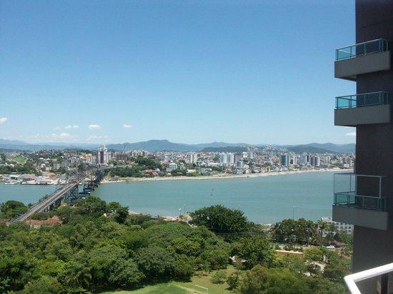 Mercure Florianopolis Centro : Vista sala do flat