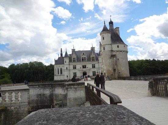 Schloss Chenonceau: vista da entrada