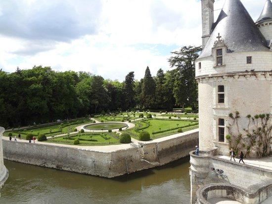 Château de Chenonceau : vista da sacada
