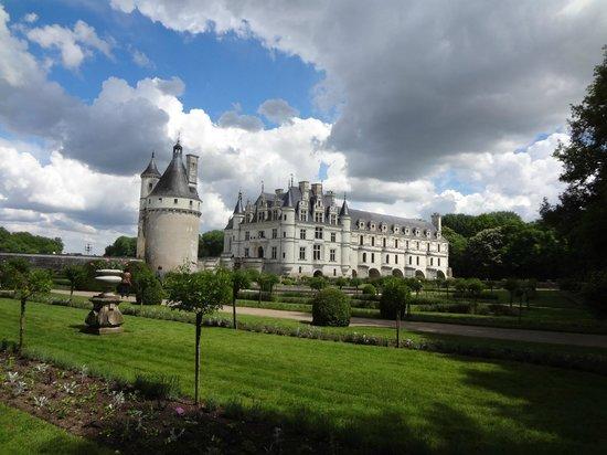 Château de Chenonceau : vista do jardim