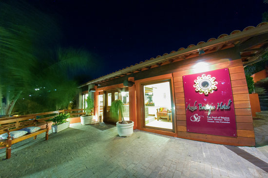 Azeda Boutique Hotel: Reception - Entrance