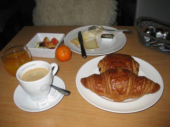 Hotel Christiania: Petit déjeuner