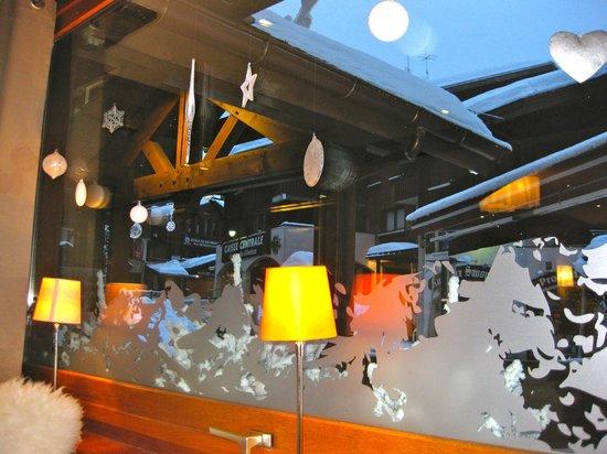 Hotel Christiania: vu du restaurant sue le centre ville