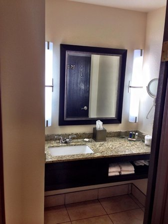 Radisson Hotel Colorado Springs Airport : bathroom
