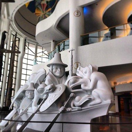 Canadian Museum of Civilization: Sculpture in Canada Hall