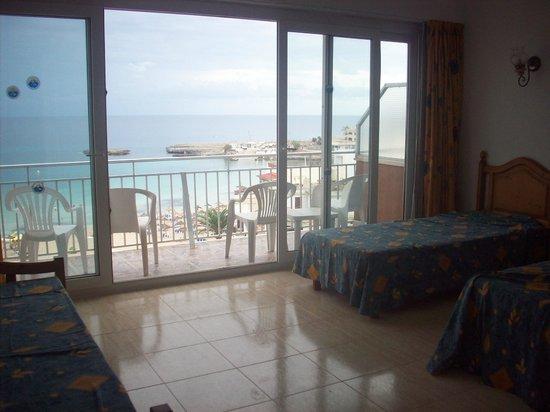 Playa Moreia Apartments : Look at that view!