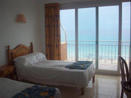Playa Moreia Apartments : Fantastic sea view!