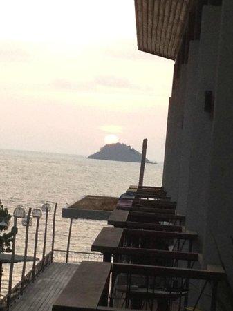 K.B. Resort: vue de notre chambre