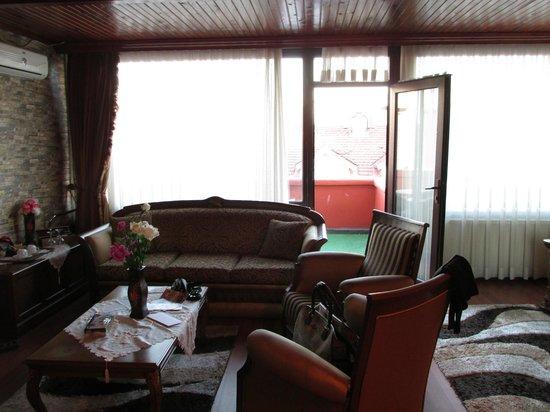 Angel's Home Hotel: Гостиная