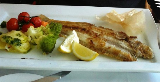 La Verandah: Seriously over-cooked sole