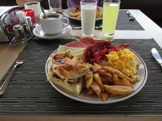 Angel's Home Hotel : Завтрак