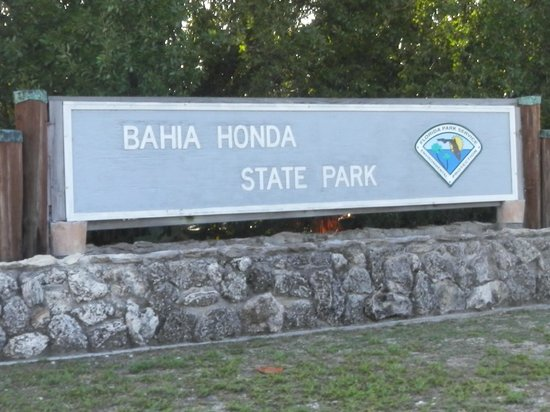Bahia Honda State Park and Beach: entrada