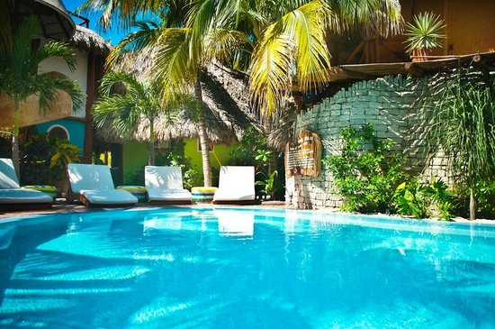 Holbox Hotel Casa las Tortugas - Petit Beach Hotel & Spa: Our nice Pool