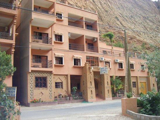hotel la gazelle du dades : Familial et sympa