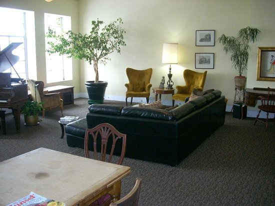 Pensione Nichols B&B: Common area.
