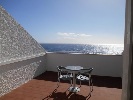 Roca Mar : uitzicht vanaf het balkon