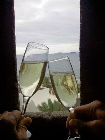 Gran Castillo Tagoro Family & Fun Playa Blanca: vista desde el mirador, un precioso castillo